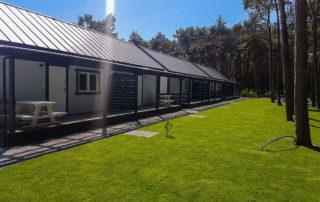 ośrodek domków drewnianych