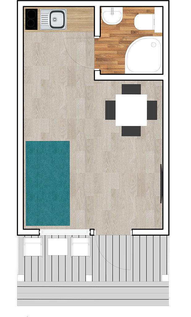domki typu D